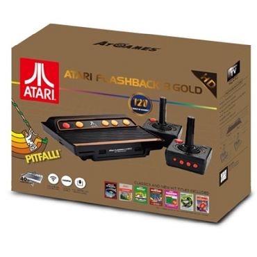 Atari Flashback 8 Gold: HD Classic Console with 120 Built-In Games