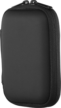 Insignia - Portable Hard Drive Case - Black