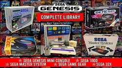 SEGA Genesis Mini Classic Retro Game Console